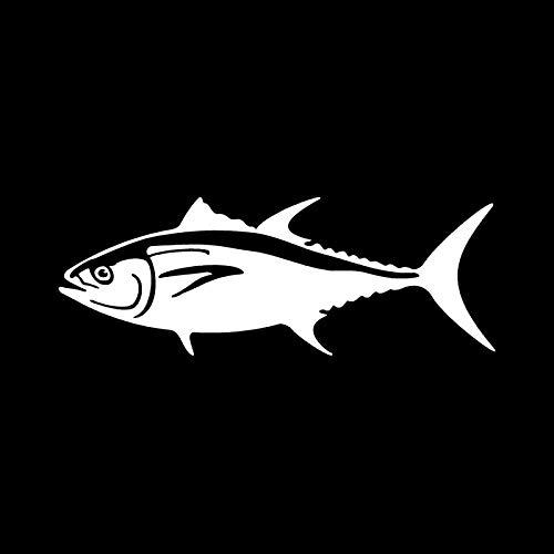 Auto Aufkleber 20,3 * 7,4 cm Bluefin Tuna Tier Auto Aufkleber Cartoon Kreative Körperdekoration Aufkleber Aufkleber C6-0625