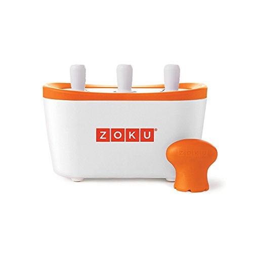 Non electric lolly maker safe for children and makes lollies in under 10 minutes Makes 3 lollies at a time and will make 9 before the base needs refreezing Box includes 1 quick pop maker base
