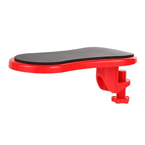 DANMEI 1 x Armlehnen-Polster zum Befestigen an den Schreibtisch, zur Befestigung am Computertisch, Maus-Pads, Arm-Handgelenkstütze, Stuhlverlängerung.