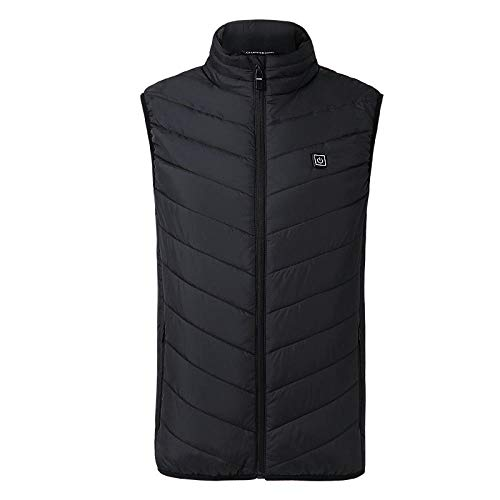 Weier. Ben Heren en vrouwen elektrische vest warm vest met USB verwarming warm vest