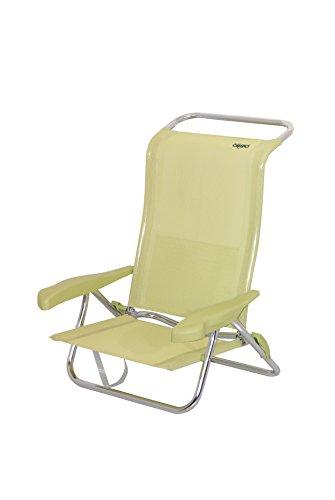 Crespo AL/222-M-06 – Chaise de Plage 7 Places Dur. (multifibre)