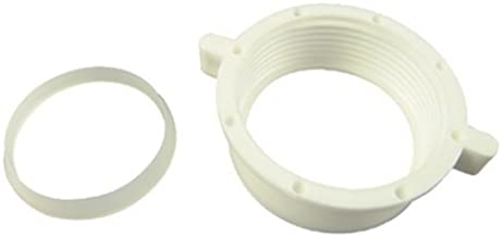 Danco 86797 Slip Joint Nut And Washer, Plastic, White