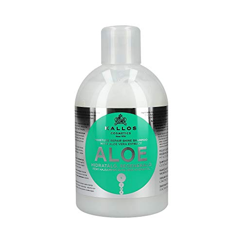 Kallos Aloe Vera Moisture Repair Shine Shampoo – 1000 ml