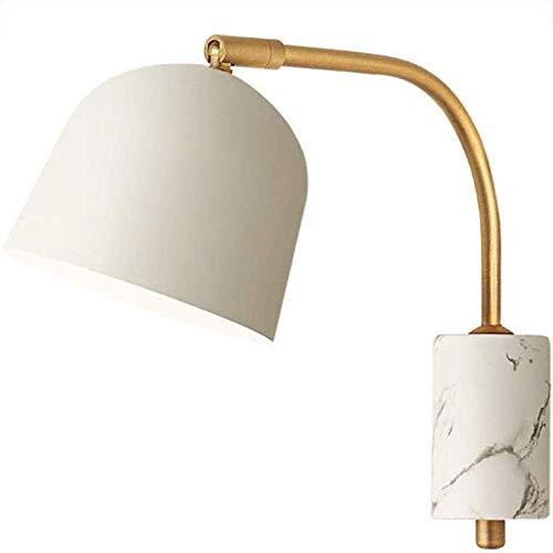 LMDH Nordic-Wand-Lampe Schlafzimmer Nachttischlampe Post Modern Minimalist Kreative Macaron Wandleuchte