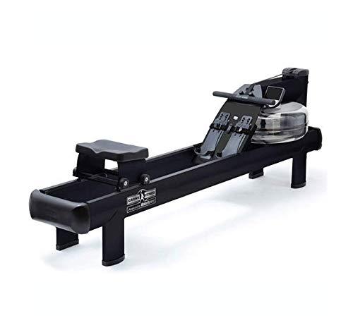 WaterRower Remo M1 HiRise Negro - Garantía de 3 años - Modelo 100% Profesional - Plegado Vertical - Monitor S4