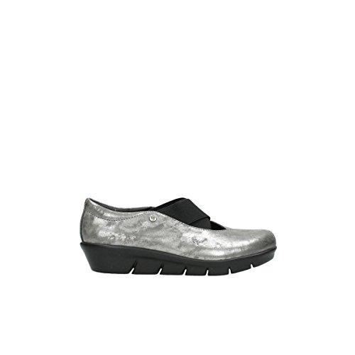 Wolky Comfort Slippers Cursa - 10203 grau Nubuk - 37
