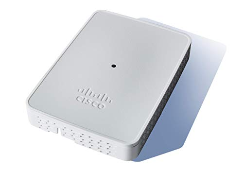 Cisco Business 143ACM Wi-Fi Mesh Extender | 802.11ac | 2x2 | 1 GbE Port | Wall Mount | Limited Lifetime Protection (CBW143ACM-B-NA) | Requires Cisco Business Wireless Access Points