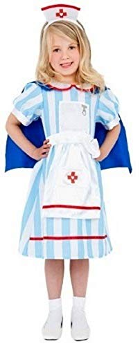 Fancy Me Enfants Garçon Filles Chirurgien Infirmière Docteur ER Uniforme Habillage Costume Déguisement 4-12 Ans - Filles, 4-6 Years