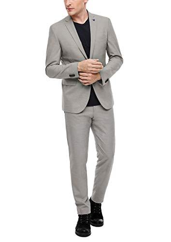 s.Oliver Herren 02.899.84.4393 Anzug, Beige (Brown Dots 80m5), (Herstellergröße: 56)