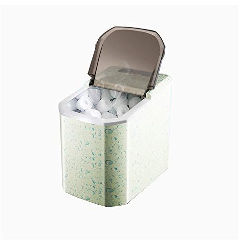 ice machine Testa Rotonda (proiettile) Macchina Per Il Ghiaccio Piccola Acqua Manuale Intelligente Casa KTV Commerciale 220V 95W 50HZ Capacità 1,7 KG 220 * 305 * 325mm Verde