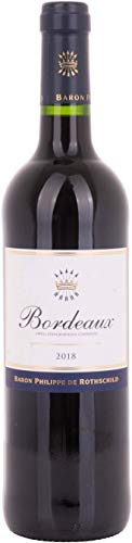 Baron Philippe de Rothschild Bordeaux 2018 Merlot trocken (6 x 0.7 l)
