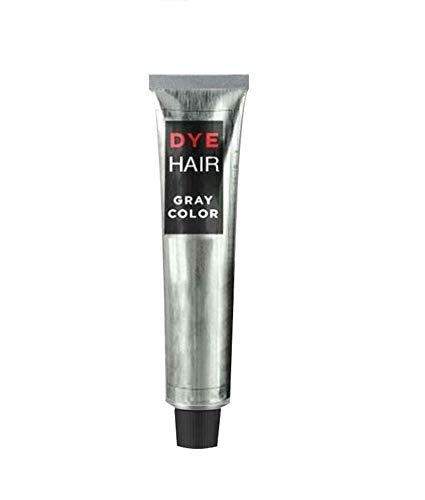 100ml Grey Hair Dye Permanent,Long-Lasting Smokey Grey Silver Hair Colour