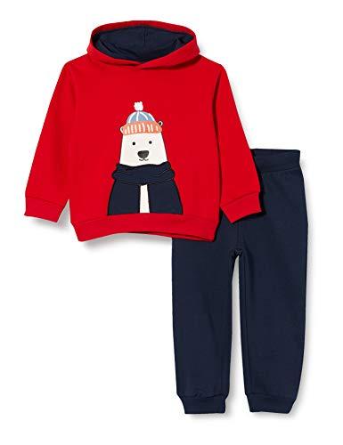 ZIPPY Baby-Jungen ZTB0603_470_6 Polo-Pullover, Scarlet 19-1760tc, 18/24M