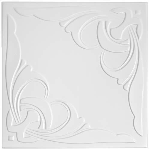 30 qm | Deckenplatten | XPS | formfest | Hexim | 50x50cm | Nr.95