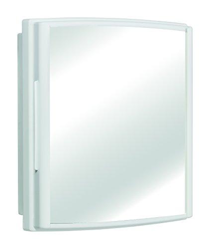 Armário Parede Banheiro Plástico 3 Peças, Pincéis Atlas, Branco