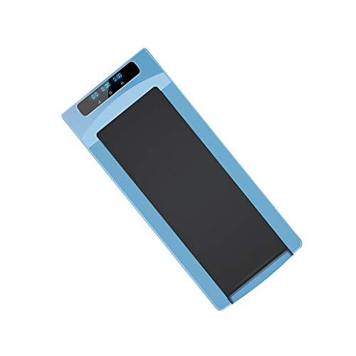 SXRKRZLB Smart Tablet Mini Simple Cinta de Correr Plegable eléctrica Portátil Portátil Cinta de Correr eléctrica Inicio Ultra-silencioso Aptitud Interior Máquina de Caminar