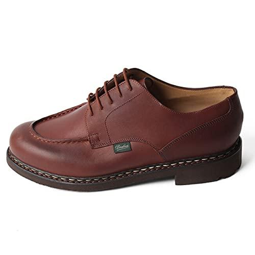 [パラブーツ] シャンボード CHAMBORD/TEX made in France MARRON LIS MARRON マロン メンズ Uチップモカ レザーカジュアル ブーツ UK7H(26cm) [並行輸入品]