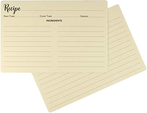 Recipe Card Refill Pack (50 cards)