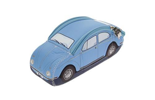 BRISA VW Collection Volkswagen VW Kever 3D Neopreen Kleine Universele Zak - Lichtblauw