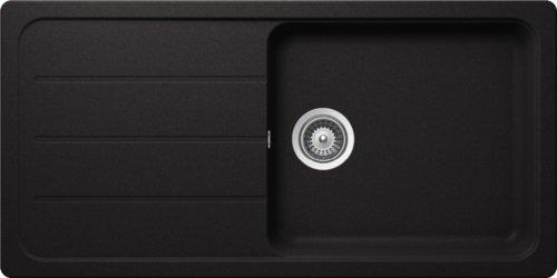 Schock Küchenspüle Formhaus D-100L, Auflage in Nero