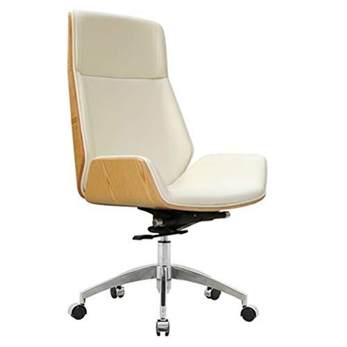 Bürostuhl Einfacher Konferenztisch Und Stuhl Rückenlehne Drehbarer Konferenzraum Rückenlehne Computerstuhl Drehbarer Arbeitsbürostuhl (Color :...