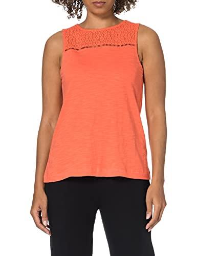 Esprit 041EE1K355 Camiseta, 645/coral, XL para Mujer