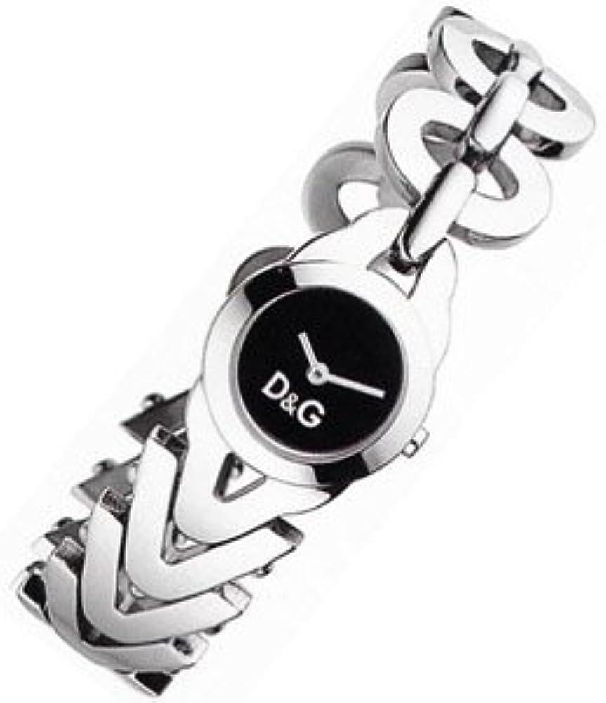 Dolce & gabbana,orologio da donna in acciaio inossidabile DW0547