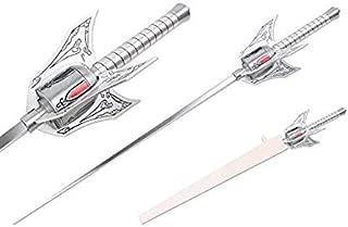"Ruby The Weiss The Schnee Sword Myrtenaster Rapier White Roudel Steel Cosplay Anime 44"""