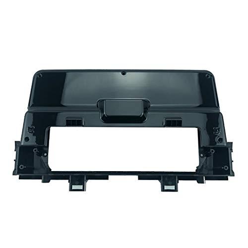 FangFang Alone Din 9 pulgadas coche Radios instalación DVD GPS Mp5 marco de panel de fascia de plástico para Kia Picanto mañana 2018-2019 Dash Mount Kit