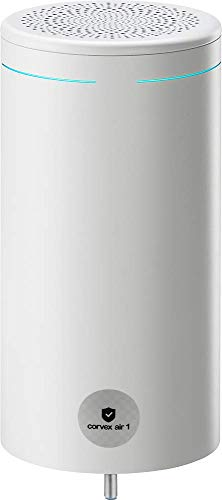 Corvex Air 1, der mobile Premium UV-C Luftentkeimer/Luftreiniger. Luftdesinfektion, Ozonfrei, umweltfreundlich, kindersicher. Ohne Folgekosten für HEPA Filter.