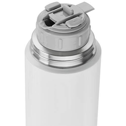 Zwilling ツヴィリング 「 真空ボトル 1000ml ホワイト 」 水筒 魔法瓶 ボトル ステンレス 真空 保冷 保温 【日本正規販売品】ZWILLING THERMO 39500-513