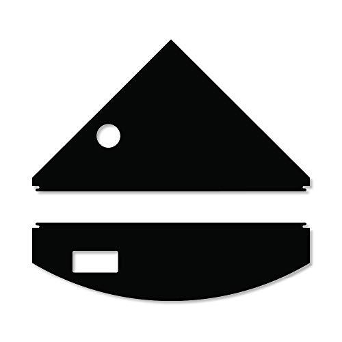 iQuatics Universal/Juwel kompatibles Ersatzklappen-Set mit Skimmer/Futterlöcher, Trigon 190