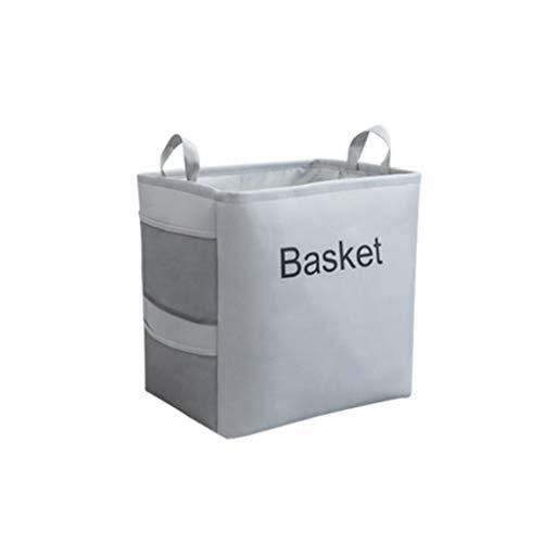 Panier de rangement Tissu Maison Séparation Jouets Design Aucune Odeur Haute Capacité Gris LITING (Size : Small)