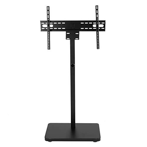 LIUTT Estante de TV, Estante de TV Ajustable Universal del Soporte de la Base del Monitor de la Mesa de TV