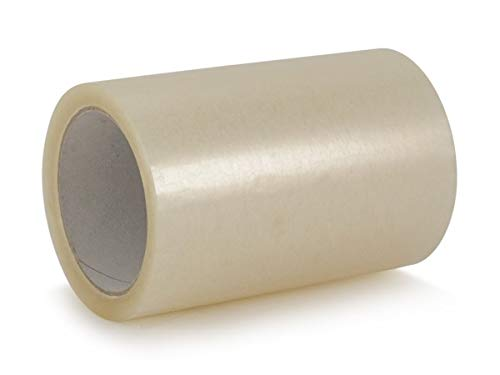 Klebeband extra breit dick Klebefolie Folie klar transparent selbstklebend Packband 66m X 150mm 15 cm Adressenschutzband Paketband Etikettenschutz Film,