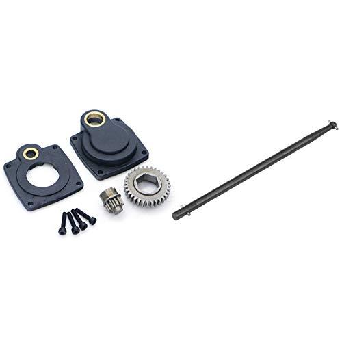 Timagebreze 1 Set Starter Drill Plate Nitro Engine Roto Backplate & 1 Pcs Starter Start Lever Start Stick Dog Bone