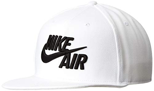 Nike Sportswear Cap, White/Black, One Size