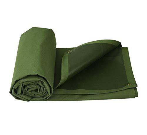 LQq-Bâches Bâche imperméable à l'eau Pare-soleil pluie coupe-vent double-crème solaire sidede couche imperméable Camion Couverture Cargo Tissu PVC pour le camping en plein air (taille : 4X4M)