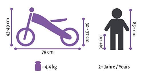 BIKESTAR Kinder Laufrad Lauflernrad Kinderrad für Jungen und Mädchen ab 2-3 Jahre | 10 Zoll Sport Kinderlaufrad | Schwarz - 6