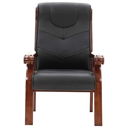 xiangyu Massivholz Computerstuhl Home Office Stuhl Konferenzstuhl hohe Rückenlehne bequem
