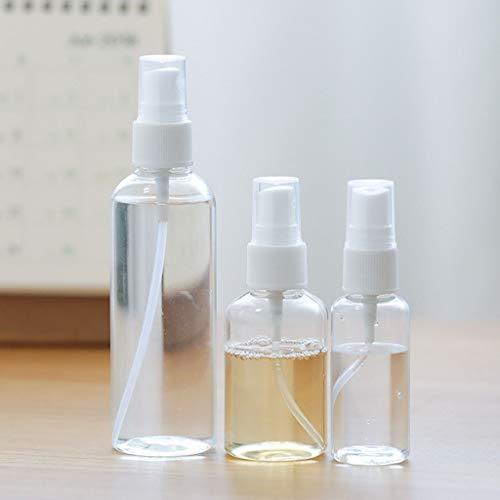 LDD 100ml disinfettante Spray Bottiglia Vuota estetica atomizzatore Portatile Viaggi Spray Bottiglia Trasparente Riutilizzabile