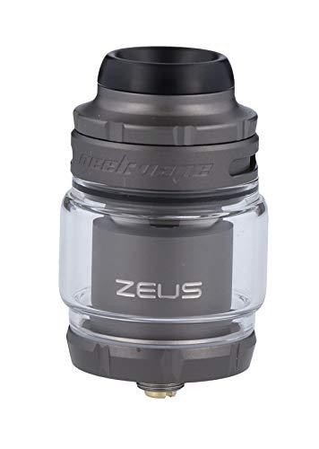 Zeus X 2 RTA Tank von GeekVape, 4,5ml, Top-Filling, subohm-fähig - Farbe: gunmetal