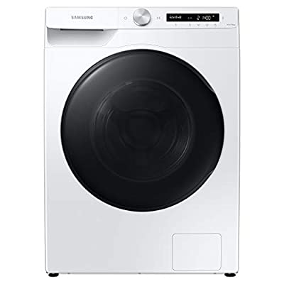 Samsung Series 5+ WD80T534DBW/S1 with Auto Dose Freestanding Washer Dryer, 8/5 kg 1400 rpm, White, E Rated