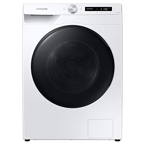 Samsung WD80T534DBW/S1 Freestanding Washer Dryer with ecobubble™and Auto Dose, 9kg Wash/6kg Dry Capacity, 1400rpm Spin, White