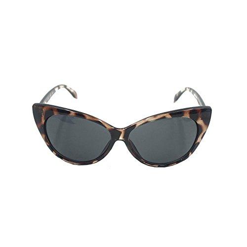 CXZC Unisex Mujer Hombres Ojo de Gato Retro Vintage Glasses Aviador de Gran tamaño de la Rana Gafas de Sol Gafas