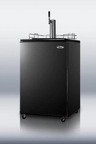 Summit Appliance SBC490 Series Kegerator With Black Door