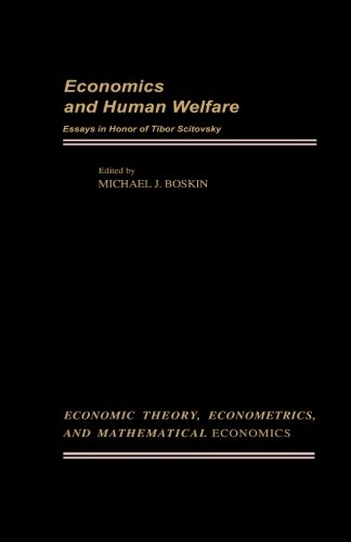 Economics and Human Welfare: Essays in Honor of Tibor Scitovsky