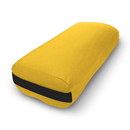 Bean Products Yoga Bolster - Handcrafted in The USA with Eco Friendly...