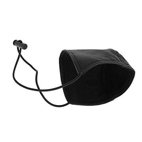 Vosarea 1pc Driving Shoe Heel Protector,Unisex Wearproof Cover Mat, Wearproof Shoe Heel Pad for Driving (Black)