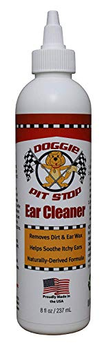 Doggie Pit Stop Dog and Cat Ear Cleaner, infection treatment...